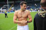 Mark Wright Towie during the Joe Thompson's Allstars v Joe Thompson's Celebrity 11 in Rochdale at the Crown Oil Arena, Rochdale, England on 21 July 2019.