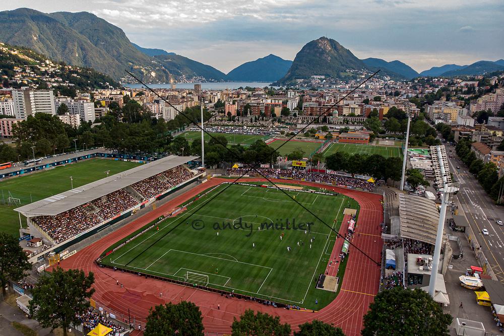 14.07.2019; Lugano; <br /> Stadio Cornaredo <br /> (Andy Mueller/freshfocus)