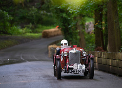 Boness Revival hillclimb motorsport event in Boness, Scotland, UK. The 2019 Bo'ness Revival Classic and Hillclimb, Scotland's first purpose-built motorsport venue, it marked 60 years since double Formula 1 World Champion Jim Clark competed here.  It took place Saturday 31 August and Sunday 1 September 2019. 11 Ian Goddard. MG PA P8