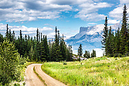A road less traveled in Jasper National Park.