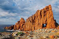 Italie. Sardaigne. Arbatax. Les Roches Rouges //Red Rocks. Arbatax. Sardinia. Italy.