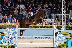 Kremer Dan, ISR, Chaplin 92<br /> European Championship Jumping<br /> Rotterdam 2019<br /> © Hippo Foto - Dirk Caremans<br /> Kremer Dan, ISR, Chaplin 92