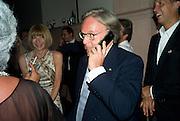 DIEGO LA VALLE, Luomo Vogue 40th Anniversary dinner. Palazzo Litta. Milan. 22 June 2008 *** Local Caption *** -DO NOT ARCHIVE-© Copyright Photograph by Dafydd Jones. 248 Clapham Rd. London SW9 0PZ. Tel 0207 820 0771. www.dafjones.com.