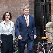 NLD/Amsterdam/20181003 - Koning opent tentoonstelling 1001 vrouwen in de 20ste eeuw, Koning Willem Alexander