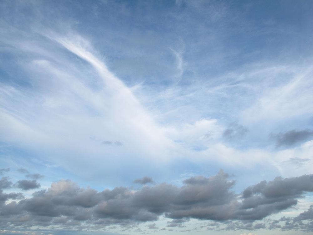Nubes / Ciudad de Panamá.<br /> <br /> Edición de 3 | Víctor Santamaría.