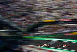 October 27, 2017 - Mexico-City, Mexico - Motorsports: FIA Formula One World Championship 2017, Grand Prix of Mexico, ..#2 Stoffel Vandoorne (BEL, McLaren Honda), #14 Fernando Alonso (ESP, McLaren Honda) (Credit Image: © Hoch Zwei via ZUMA Wire)