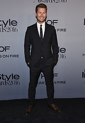 October 24, 2016 - Los Angeles, California, U.S. - Glen Powell arrives for the InStyle Awards 2016 at the Getty Center. (Credit Image: © Lisa O'Connor via ZUMA Wire)