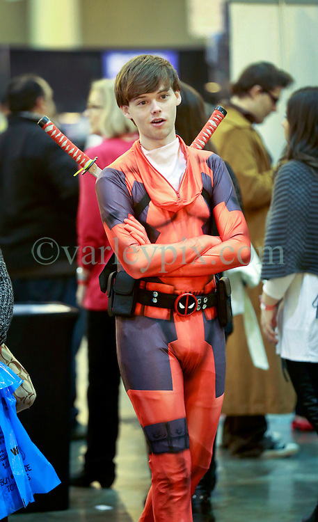 10 January 2015. New Orleans, Louisiana. <br /> Scenes from the Wizard World New Orleans Comic Con 2015 at the Morial Convention Center. <br /> Photo; Charlie Varley/varleypix.com