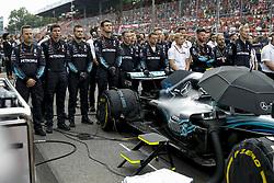 September 2, 2018 - Monza, Italy - Motorsports: FIA Formula One World Championship 2018, Grand Prix of Italy, .Mechanicians of Mercedes AMG Petronas Motorsport  (Credit Image: © Hoch Zwei via ZUMA Wire)