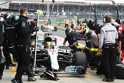 July 15, 2017 - Silverstone, Great Britain - Motorsports: FIA Formula One World Championship 2017, Grand Prix of Great Britain, .#44 Lewis Hamilton (GBR, Mercedes AMG Petronas F1 Team) (Credit Image: © Hoch Zwei via ZUMA Wire)