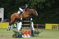 Dunon Gilles, (BEL), Fou de Toi van de Keikhoeve <br /> Grand Prix Meritt Capital<br /> Jumping Kapellen 2015<br /> © Hippo Foto - Dirk Caremans<br /> 12/07/15