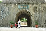 The entrance to Huwei Fort ????, in Danshui, Taiwan.