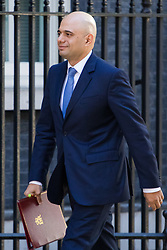 Downing Street, London, April 25th 2017. Communities and Local Government Secretary Sajid Javid attends the weekly cabinet meeting at 10 Downing Street in London. Credit: ©Paul Davey