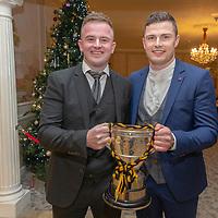Ballyea's Tadgh Lynch and Paul Flanagan