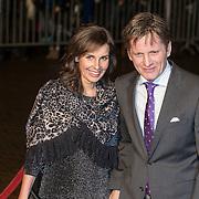 NLD/Scheveningen/20131130 - Inloop concert 200 Jaar Koningrijk der Nederlanden, prins Pieter -  Christiaan en partner Anita van Eijk