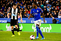 Ricardo Pereira of Leicester City takes on Paul Dummett of Newcastle United - Mandatory by-line: Robbie Stephenson/JMP - 29/09/2019 - FOOTBALL - King Power Stadium - Leicester, England - Leicester City v Newcastle United - Premier League