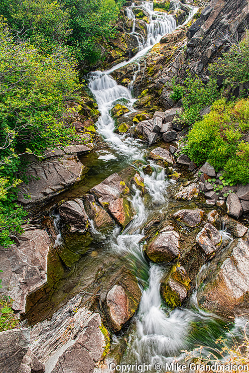 Waterfall<br />Near St. Jacques<br />New Brunswick<br />Canada