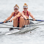 Kerri Gowler & Grace Prendergast , Womens Coxless Pair<br /> <br /> Racing at the Henley Royal Regatta on The Thames river, Henley on Thames, England. Saturday 6 July 2019. © Copyright photo Steve McArthur / www.photosport.nz