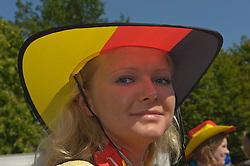 27.06.2010, Marktplatz, Vechta, GER, FIFA WM 2010, Germany (GER ) vs England (GB)., im  Bild  Fan Meile Vechta Marktplatz  EXPA Pictures © 2010, PhotoCredit: EXPA/ nph/  Kokenge / SPORTIDA PHOTO AGENCY