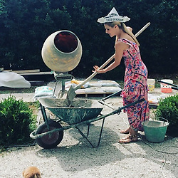 """Michelle Hunziker releases a photo on Instagram with the following caption: """"L'importante \u00e8 crederci!!!! \ud83e\udd23\ud83e\udd23\ud83e\udd23\ud83e\udd23\ud83e\udd23\ud83e\udd23 #buonaestateatutti"""". Photo Credit: Instagram *** No USA Distribution *** For Editorial Use Only *** Not to be Published in Books or Photo Books ***  Please note: Fees charged by the agency are for the agency's services only, and do not, nor are they intended to, convey to the user any ownership of Copyright or License in the material. The agency does not claim any ownership including but not limited to Copyright or License in the attached material. By publishing this material you expressly agree to indemnify and to hold the agency and its directors, shareholders and employees harmless from any loss, claims, damages, demands, expenses (including legal fees), or any causes of action or allegation against the agency arising out of or connected in any way with publication of the material."""