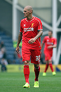 Liverpool's Martin Skirtel looks on. pre-season friendly match, Preston North End v Liverpool at Deepdale in Preston, England on Saturday 19th July 2014.<br /> pic by Chris Stading, Andrew Orchard sports photography.