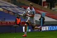 Ruan Ackermann of Gloucester Rugby during the Gallagher Premiership Rugby match between Leicester Tigers and Gloucester Rugby at Welford Road Stadium, Leicester, United Kingdom on 21 November 2020.