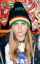 © Licensed to London News Pictures. 21/11/2013, UK. Cara Delevingne, Hyde Park Winter Wonderland VIP Opening, Hyde Park, London UK, 21 November 2013. Photo credit : Richard Goldschmidt/Piqtured/LNP