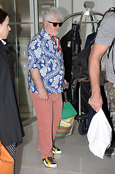 71st Cannes Film Festival 2018, Celebrities sightseen on the Croisette. Pictured: Pedro Almodovar