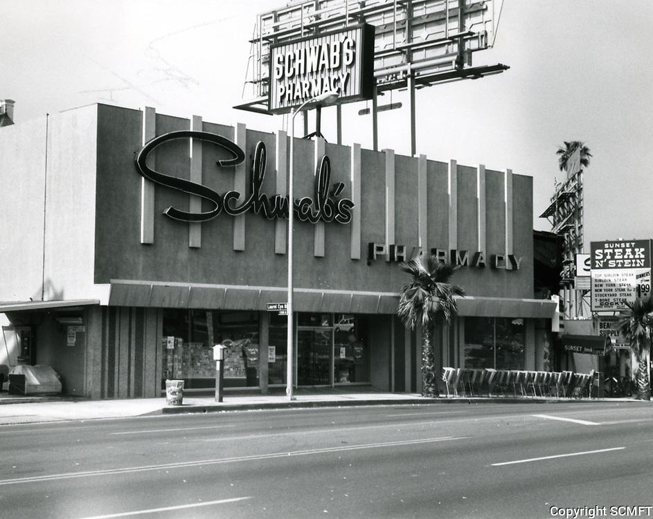 1973 Schwab's Drugstore