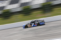 June 1, 2018 - Long Pond, Pennsylvania, United States of America - Justin Allgaier (7) takes to the track to practice for the Pocono Green 250 at Pocono Raceway in Long Pond, Pennsylvania. (Credit Image: © Justin R. Noe Asp Inc/ASP via ZUMA Wire)