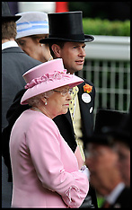 The Queen at Royal Ascot Day 2