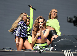 Little Mix perform on the main stage at the BBC Radio 1 'One Big Weekend' in Hull<br /><br />28 May 2017.<br /><br />Please byline: Vantagenews.com