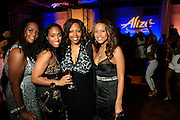 """Kristen Henderson, Michele Murray, Alize Brand Director, Guest and Valiesha Butterfield at The Ludacris Foundation 5th Annual Benefit Dinner & Casino Night sponsored by Alize, held at The Foundry at Puritan Mill in Atlanta, Ga on May 15, 2008.. Chris """"Ludacris"""" Bridges, William Engram and Chaka Zulu were the inspiration for the development of The Ludacris Foundation (TLF). The foundation is based on the principles Ludacris learned at an early age: self-esteem, spirituality, communication, education, leadership, goal setting, physical activity and community service. Officially established in December of 2001, The Ludacris Foundation was created to make a difference in the lives of youth. These men have illustrated their deep-rooted tradition of community service, which has broadened with their celebrity status. The Ludacris Foundation is committed to helping youth help themselves."""