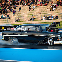 Steve Aldridge (2767) - Chevrolet Belair Top Doorslammer.