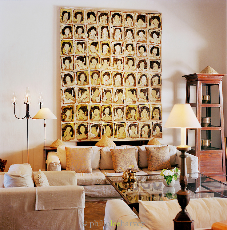 Sitting Room At Doornberg Luxury Accommodation in Galle, Sri Lanka
