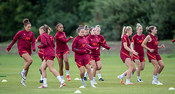 WALLASEY, ENGLAND - Wednesday, July 28, 2021: Liverpool players during a training session at The Campus as the team prepare for the start of the new 2021/22 season. (Pic by David Rawcliffe/Propaganda)