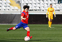 Fifa Womans World Cup Canada 2015 - Preview //<br /> Cyprus Cup 2015 Tournament ( Gsp Stadium Nicosia - Cyprus ) - <br /> South Korea vs Italy 1-2 , Kim Doyeon of South Korea