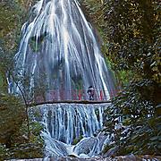 Cola de Caballo waterfall. Monterrey, Nuevo Leon. Mexico.