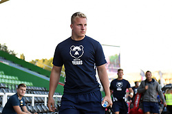 James Dun and the rest of the Bristol Bears team arrive at the Stoop - Mandatory byline: Patrick Khachfe/JMP - 07966 386802 - 20/09/2019 - RUGBY UNION - The Twickenham Stoop - London, England - Harlequins v Bristol Bears - Premiership Rugby Cup