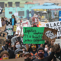 Black Lives Matter march and rally in Capitola.  Photo by Shmuel Thaler