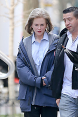 Nicole Kidman seen heading to The Goldfinch film set - 6 March 2018