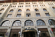 Turkey, Istanbul, World Park Hotel Construction completed in 1926