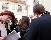 Milano, il sindaco Giuliano Pisapia: Teatro Litta, conferenza programmatica del Pd