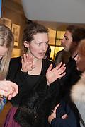 PERDITA WEEKS, Smythson Sloane St. Store opening. London. 6 February 2012.