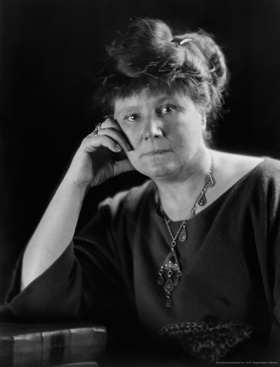May Sinclair, English Author and Suffragette, 1921