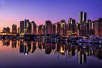 Vancouver - Skyline & Coal Harbour @ Dawn