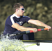 Peter Spurrier Sports  Photo<br />email pictures@rowingpics.com<br />Tel 44 (0) 7973 819 551<br />Tideway_Week_Fri_043<br />Photo Peter Spurrier<br />29/03/2002<br />2002 Varsity Boat Race-Tideway week<br />Fri training session<br />Dan Perkins 20020327 University Boat Race, [Varsity],  Tideway Week. Putney. London