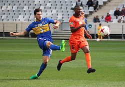 Cape Town City midfielder Roland Putsche in action against Polokwane City in an MTN8 quarter-final match at the Cape Town Stadium on August 12, 2017 in Cape Town, South Africa.