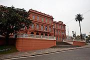 Buenos Aires, Argentina...Casa Rosada em frente a Praca de Maio...The National Government House (The Pink House): on the east side of Plaza de Mayo is the Casa Rosada, the Pink House of Buenos Aires...Foto: JOAO MARCOS ROSA / NITRO