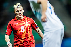 Egzijan Alioski of Macedonia vs Jasmin Kurtič of Slovenia during football match between National teams of Slovenia and North Macedonia in Group G of UEFA Euro 2020 qualifications, on March 24, 2019 in SRC Stozice, Ljubljana, Slovenia.  Photo by Matic Ritonja / Sportida